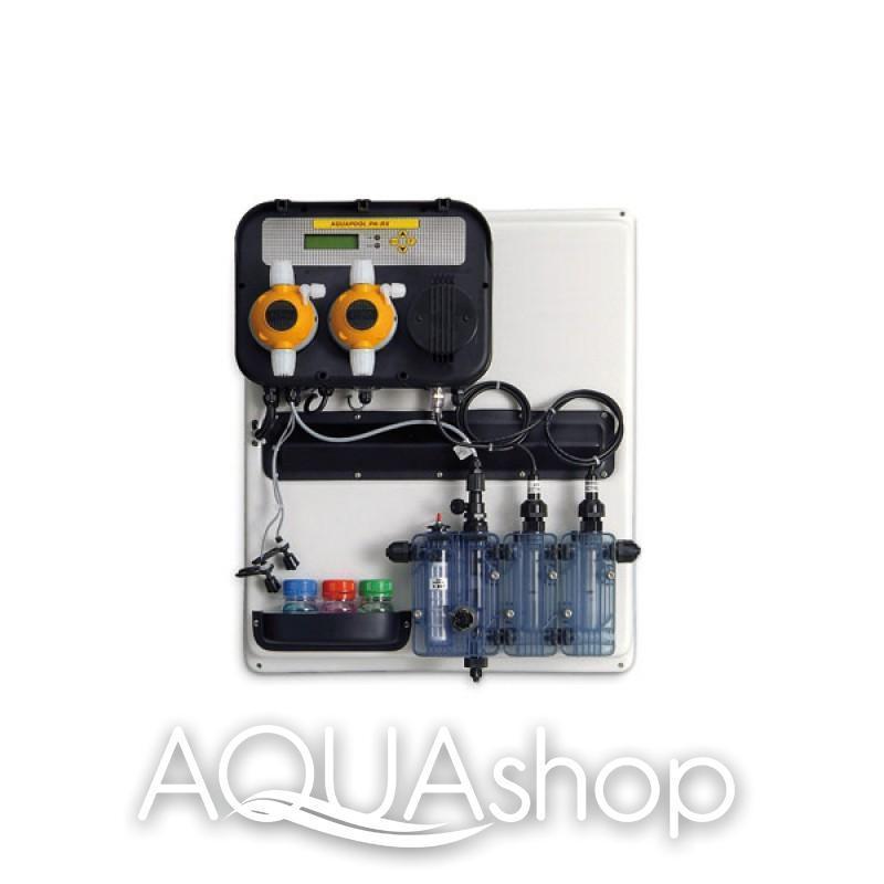 Станция контроля и дозирования A-POOL SYSTEM PH-RX (10-10л/ч) + монтажный комплект