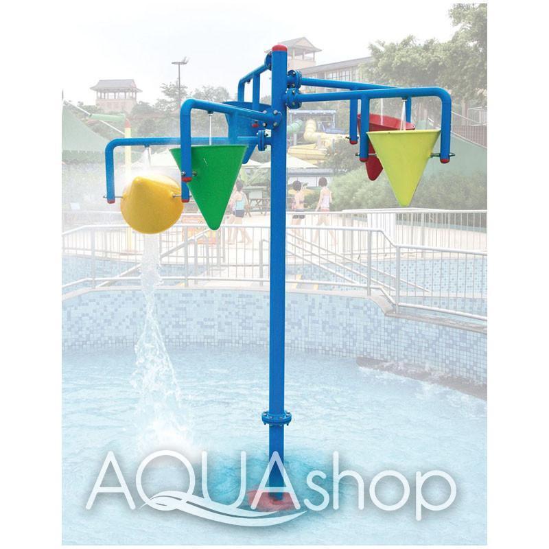 Водный аттракцион душ «Перевернутое ведро» TY-711991