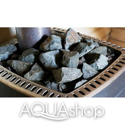 Жадеит камни для печи колотый средний (7-12 см.) 10 кг(ведро), фото 2