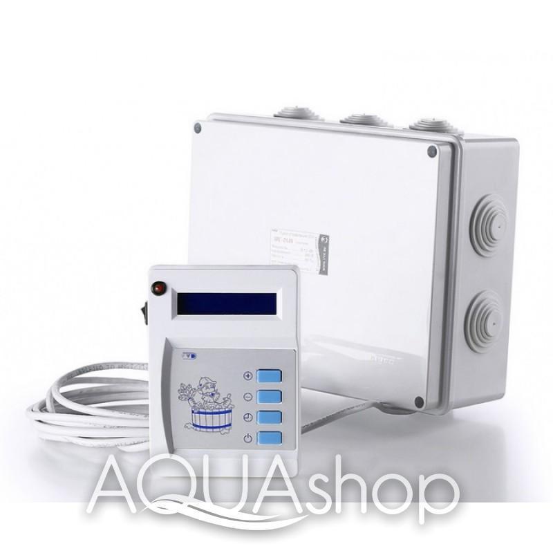 Пульт управления к паротермальным печам для бани и ЭГПП 9 - 12 кВт