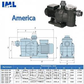 Насос IML America SA075M 0.75 HP, фото 2