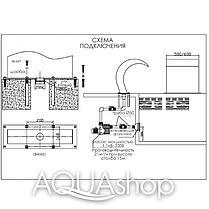 Водопад для бассейна Aquaviva Cobra AQ-4040 (400x400 мм), фото 2