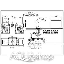 Водопад для бассейна Aquaviva Cobra AQ-4040 (400x400 мм), фото 3