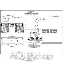 Водопад для бассейна Aquaviva Cobra AQ-5050 (500x500 мм), фото 2