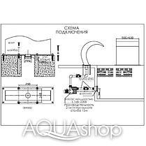 Водопад для бассейна Aquaviva Dolphin AQ-5080 (500х800 мм), фото 2