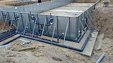 Панельный бассейн Runvil Pool 4x10.4x1.5 (покрытие Magnelis), фото 2