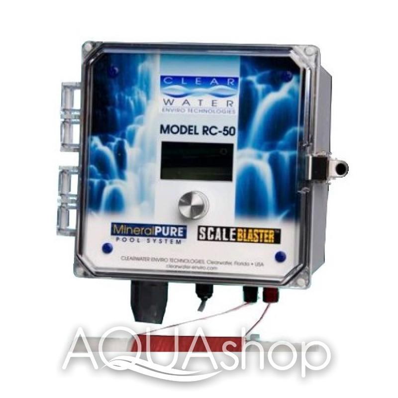 Ионизатор цифровой Clear Water RС-50 (США), для частных бассейнов объемом до 190 м3