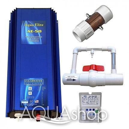 Комбинированная система Clear Water Aqua Elite 50 (Объем бассейна до 190м3), фото 2