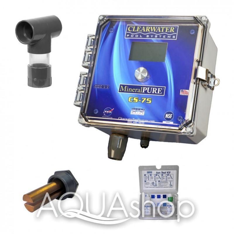 Коммерческий ионизатор Clear Water CS-75 (для общественных бассейнов объемом до 285 м3)