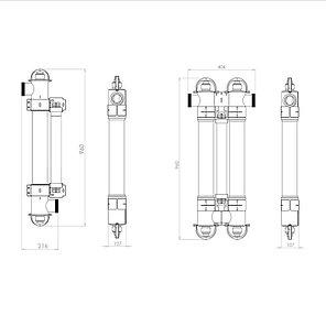 Ультрафиолетовая установка Elecro Steriliser UV-C E-PP-110, фото 2