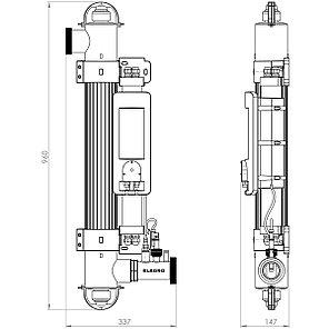 Ультрафиолетовая установка Elecro Spectrum Hybrid UV+HO SH-55, фото 2