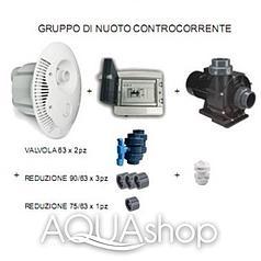Противоток для бассейна WaterPool (Италия) 55м3/ч, в бетон