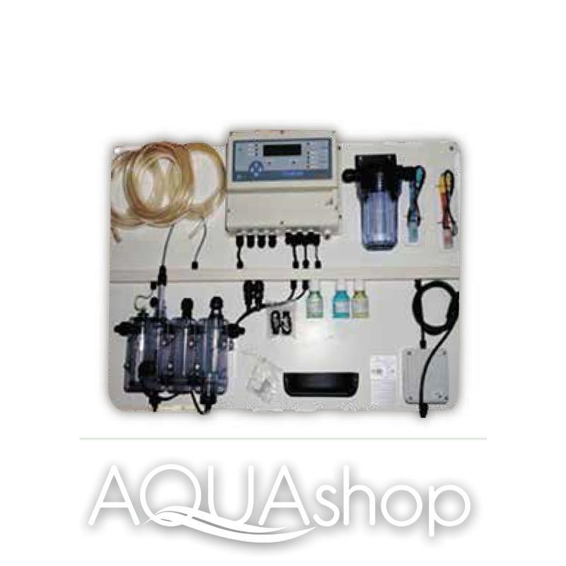 Станция контроля и коррекции A-POOL TOP PRO 1 pH/хлор/Rx/температура + монтажный комплект