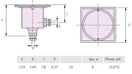 Монтажная коробка IML B-005, фото 2