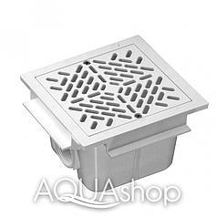 Донный слив Waterpool квадратный (в бетон)