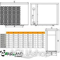 Тепловой инверторный насос Fairland IPHC100T (тепло/холод), фото 3