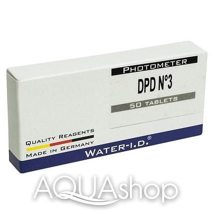 Запасные таблетки для тестера Water-id DPD3 TbsPD350 (50 шт), фото 2