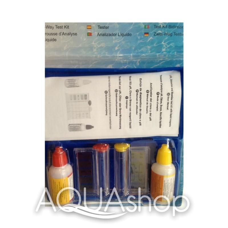 Тестер капельный для измерения pH и Cl