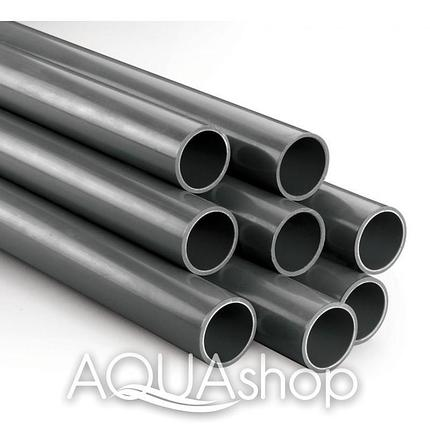 Труба PVC диаметр 63 мм. ПВХ трубы для бассейнов., фото 2