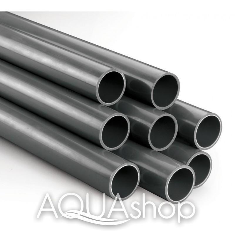 Труба PVC диаметр 110 мм. ПВХ трубы для бассейнов.