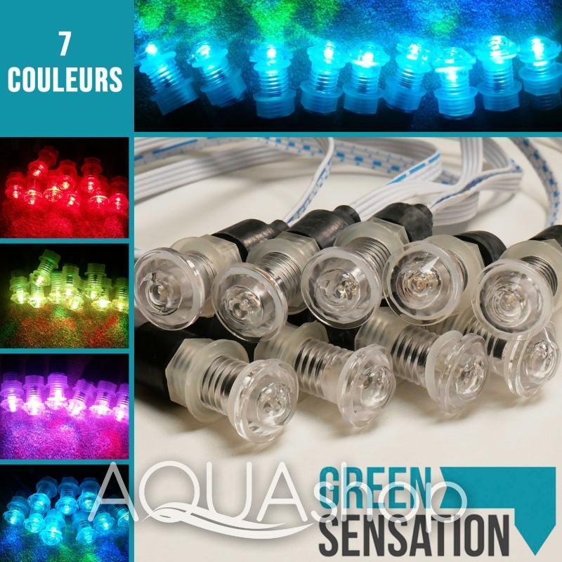 Комплект маленьких цветных светильников Small colorful lights TOLO-sl01-kit1