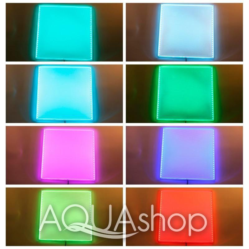 Светильник для сауны и хаммама RGB панель хромотерапии