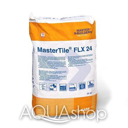 Клеящий раствор MasterTile FLX 24 WHITE (Fleksmortel white), 25 кг, фото 2