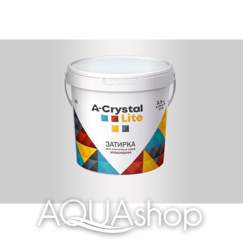 Эпоксидная затирка-клей A-Crystal lite (белый) 2,5кг