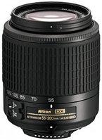 Объективы Nikon 55 - 200mm f/4-5.6 G IF-ED VR II