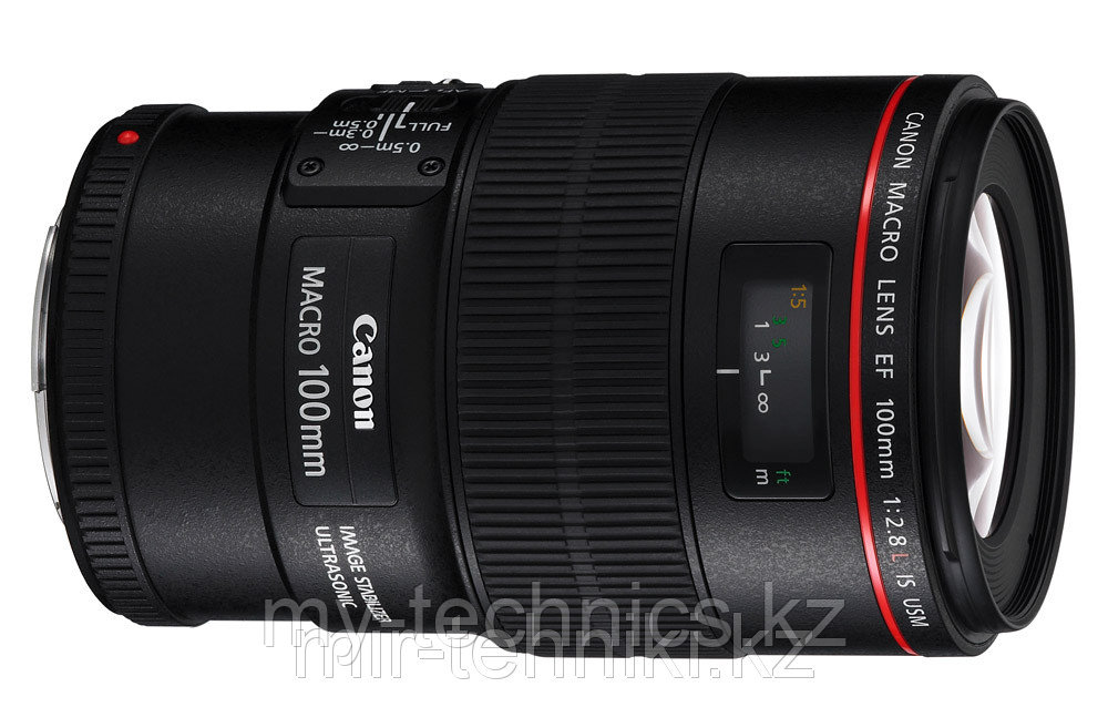 Объектив Canon EF 100mm f/2.8 L Macro IS USM