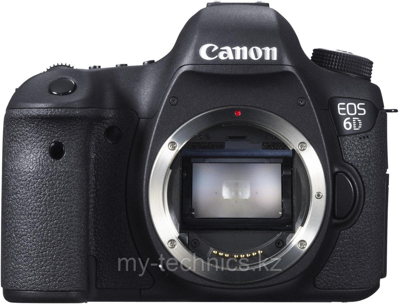 Фотоаппарат Canon EOS 6D Body WI-FI+GPS