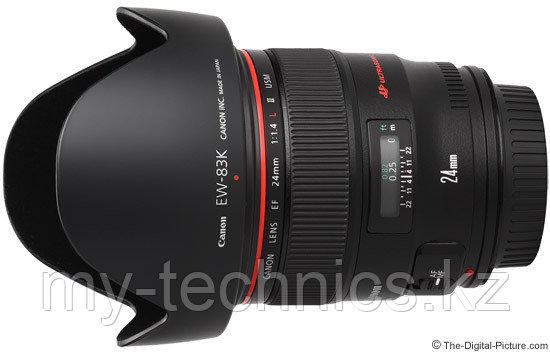 Объективы Canon EF 24mm f 1,4 L II USM