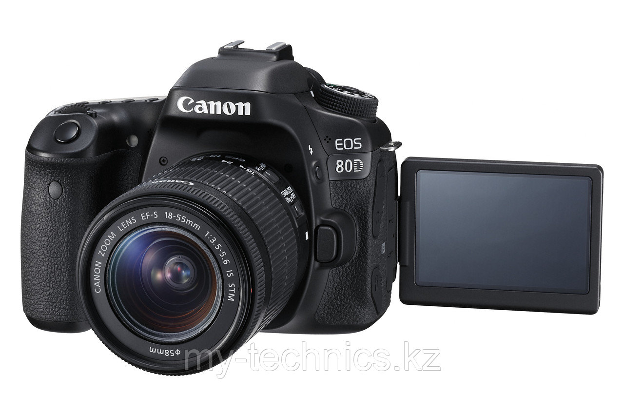Фотоаппарат Canon EOS 80D kit 18-55 IS STM