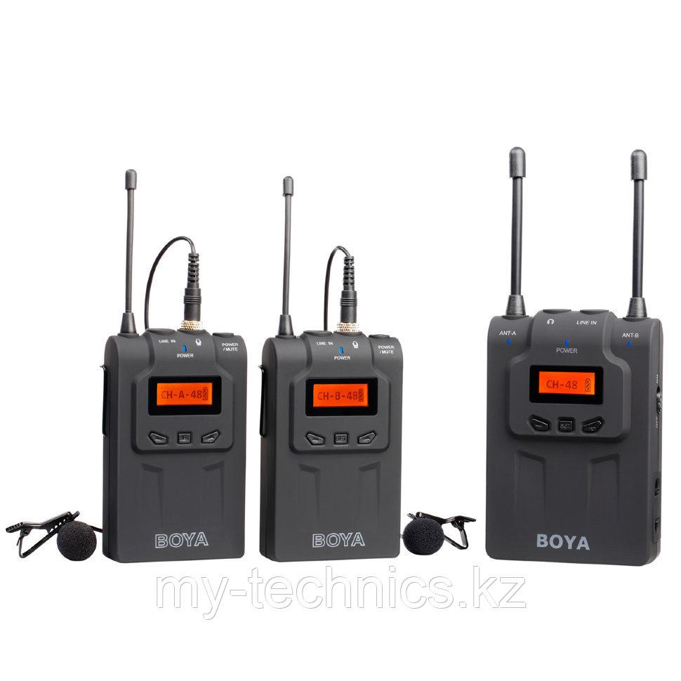 Петличный радио микрофон Boya - BY WM8
