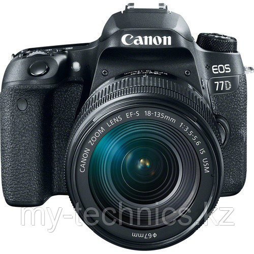 Фотоаппарат Canon EOS 77D  kit 18-55 mm IS STM WI-FI +GPS