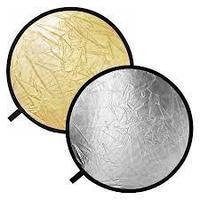 Отражатель Godox RFT-01 золото/серебро 110 см 2in1