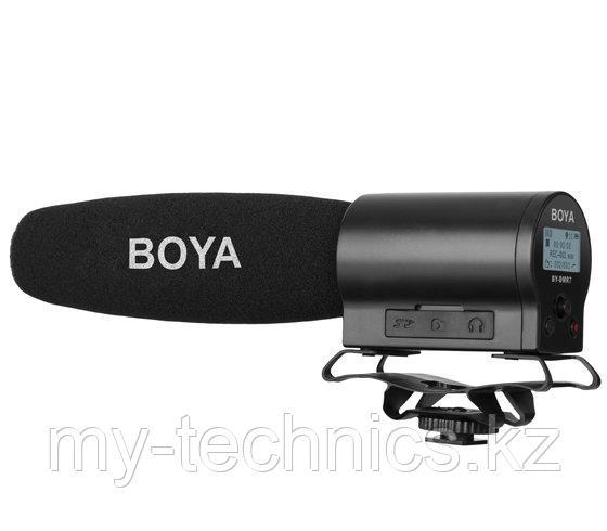 Микрофон с ручным управлением и встроенным флэш-рекордером Boya BY- DMR7