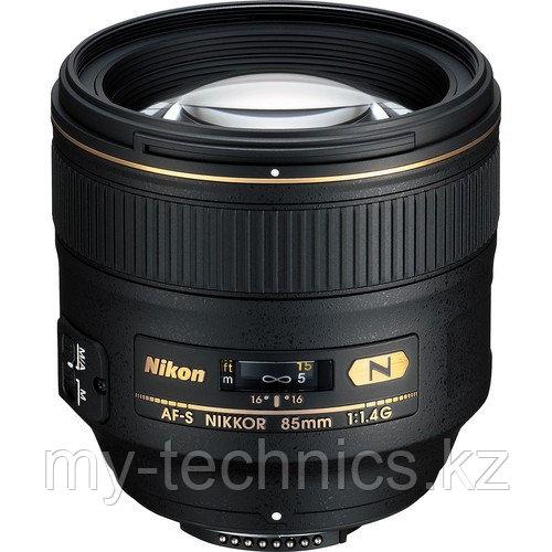 Объектив AF-S Nikon 85mm f1.4 G