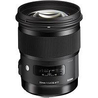 Объектив Sigma 50mm f/1.4 DG HSM Art for Nikon