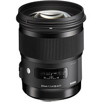 Объектив Sigma 50mm f/1.4 DG HSM Art for Canon