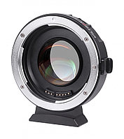 Переходник c автофокусом Viltrox EF-M2 Speed Booster 0.71x Adapter for Canon EOS EF Lens to M4/3 Mount