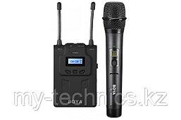 Беспроводная микрофонная система Boya BY-WM8-K2 (BY-WM8R+BY-WHM8)