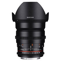 Samyang 24mm T1.5 ED AS UMC VDSLR II Canon EF, фото 1