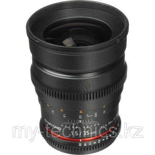 Samyang 35mm T1.5 ED AS UMC VDSLR II Canon EF