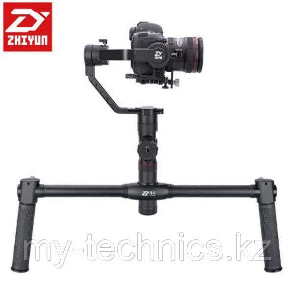 Электронный стабилизатор Zhiyun Tech Crane 2 +Follow Focus + Dual handle Crane-EH002