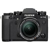 Fujifilm X-T3 kit 18-55mm f/2.8-4 R LM OIS Black, фото 1