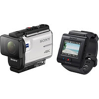 Sony FDR-X3000R/W Action Camera with Live-View Remote, фото 1