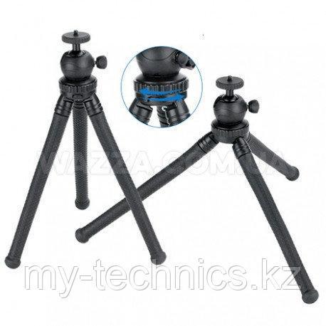 Ulanzi гибкий прорезиненный штатив MT-04 со съемной головкой для камер и телефонов