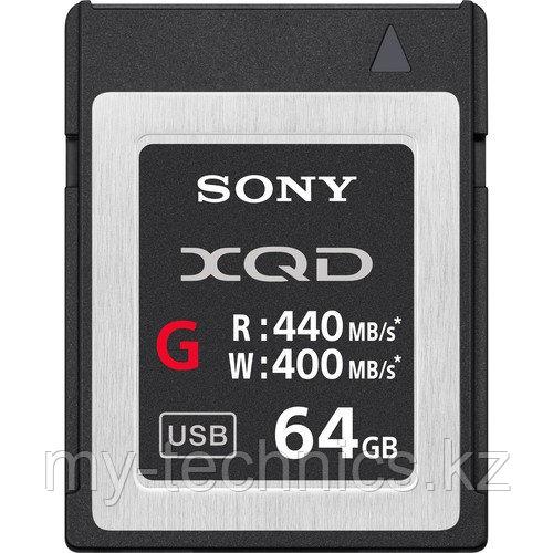 Карта памяти XQD Sony 64GB (QD-G64E) G Series Memory Card (R440/W400)