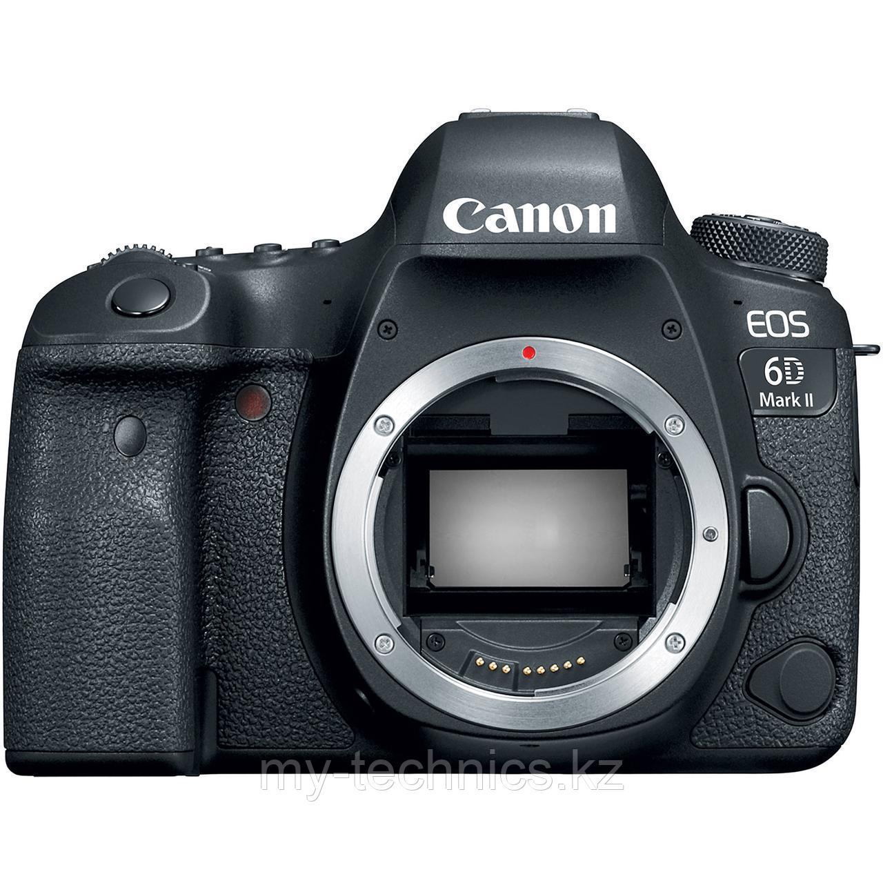 Фотоаппарат Canon EOS 6D Mark II Body 2 года гарантии
